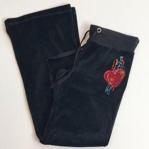 Romeo Juliet Couture Velour Lounge Pants